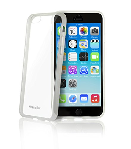 """XtremeMac Microshield Accent iPhone 6 Case (Fits 4.7"""") (IPP-MA6-03 Clear)"""