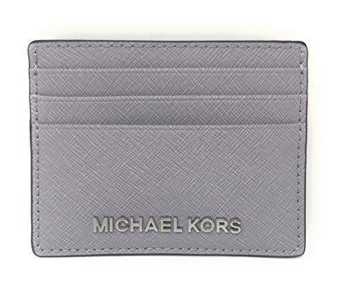 Michael Kors Jet Set Travel Large Saffiano Leather Card Holder (Lilac)