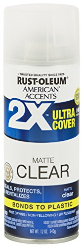 Rust-Oleum 327862 American Accents Ultra Cover 2X Matte, Each, ()