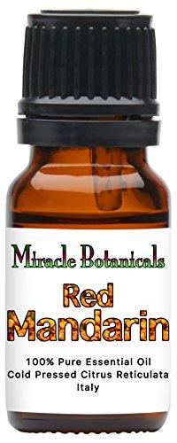 Price comparison product image Miracle Botanicals Red Mandarin Essential Oil - 100% Pure Citrus Reticulata - 10ml and 30ml Sizes - Therapeutic Grade - Italy 10ml