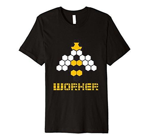 Worker Bee T-Shirt Bumblebee Costume Hard Worker Tee