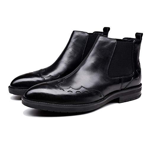 Invierno Black Cuero Casual Botas Zpedy E Botines De Hombre Otoño Martin xzXz4qwv