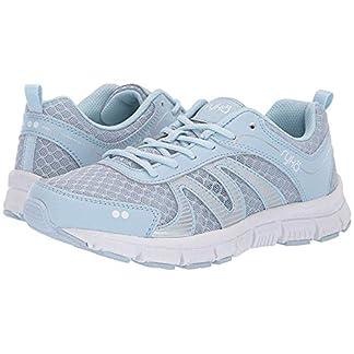 Ryka Womens Heather Walking Shoes 9 Soft Blue