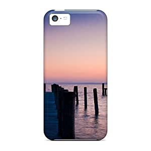 ScoDay Design High Quality Lighthouse Cover Case With Excellent Style For Iphone 5c