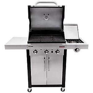 Char-Broil Signature TRU-Infrared 420 3-Burner Cabinet Liquid Propane Gas Grill