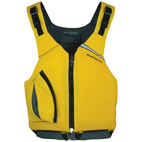 Stohlquist Men's Escape PFD Life Jackets, Yellow, X-Large/XX-Large