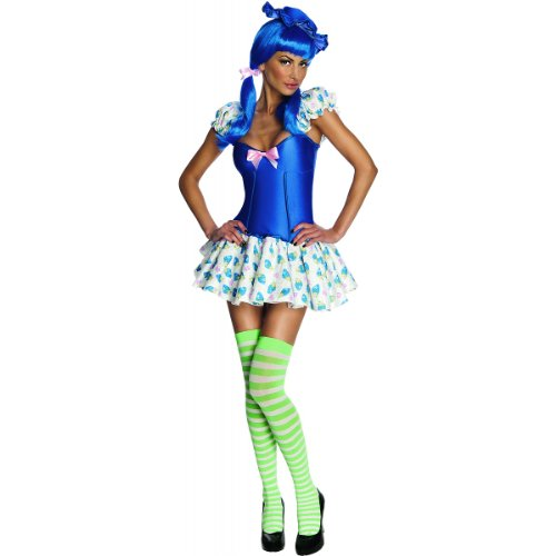 Blueberry Muffin Adult Costume - Blueberry Muffin Costume - Large - Dress Size 12-14