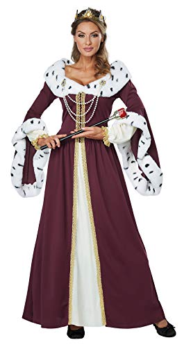 (California Costumes Women's Royal Storybook Queen Adult Woman, Multi,)