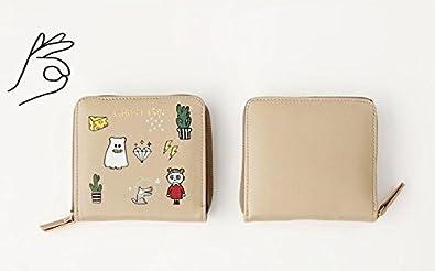 Fakeface Zippered PU Leather Short Bi-fold Mini Wallet Card Cash Purse Holders Money Clip