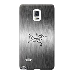 ElenaHarper Samsung Galaxy Note 4 Scratch Protection Mobile Case Custom Attractive Arcteryx Metal Series [Ogl1263krGD]