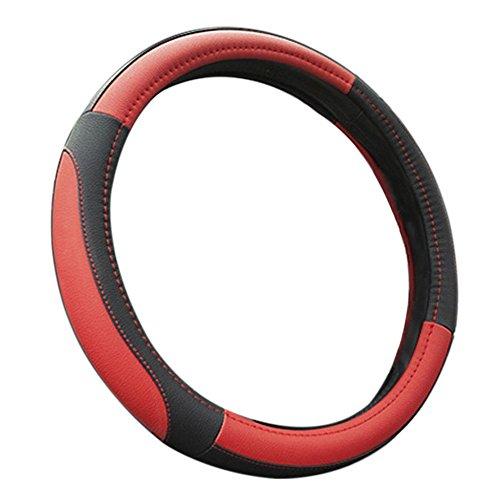[해외]마이크로 화이버 가죽 자동차 자동차 핸들 커버/Microfiber Leather Auto Car Steering Wheel Cover