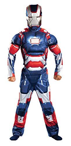 SALES4YA Boys Iron Patriot Classc Muscle Kids Costume Large 10-12 Boys Costume