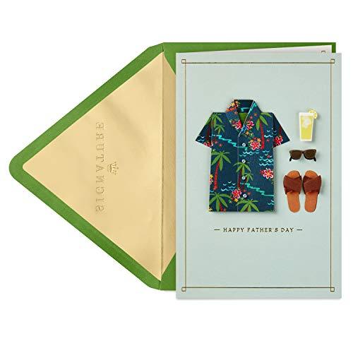 Hallmark Signature Fathers Day Card (Hawaiian Shirt)