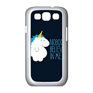 Samsung Galaxy S3 9300 Cell Phone Case White Nobody Believes In Me