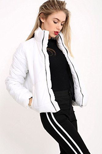 blanco Fashions amp;Ayat Momo mujer Chaqueta para xOXOwq5