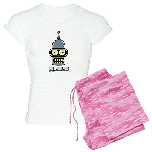CafePress Futurama Alt Shift Kill - Womens Novelty Cotton Pajama Set, Comfortable PJ Sleepwear