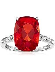 Sterling Silver Swarovski Crystal Ring