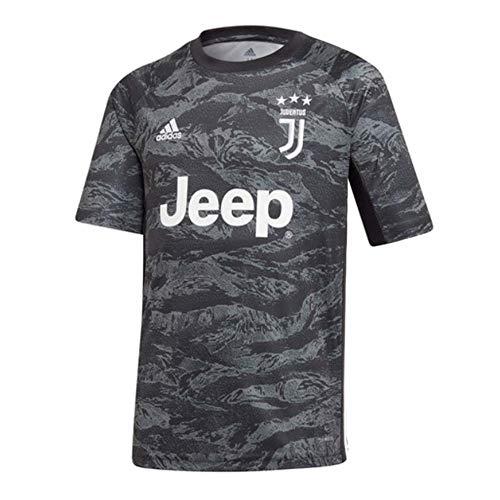 adidas 2019-2020 Juventus Goalkeeper Football Soccer T-Shirt Jersey (Kids)