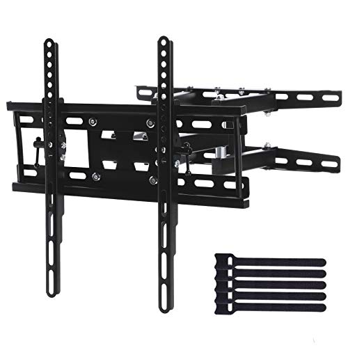 CO-Z TV Wall Mount   TV Bracket with 90-Degree Swivel Articulating Dual Arms   Fits Most 20-60 Inch Flat Screen TV