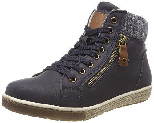 Sneaker 5828402 a Blau Supremo Alto 00003 Donna Collo Navy qAOpn5