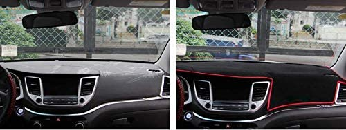New 1pcs Black Non-Slip Dash Mat Dashboard Mat Dash Carpet Dash Covers Dashboard Cover Custom Fit for Nissan Sentra 2012 2013 2014 2015 2016 2017 2018 2019 2020
