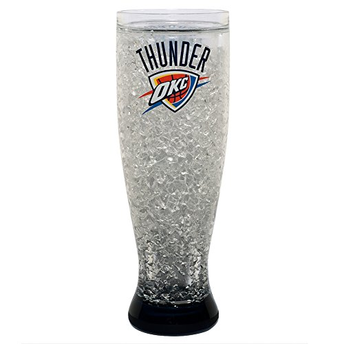 Oklahoma City Thunder - Logo 18 oz Freezer Pilsner