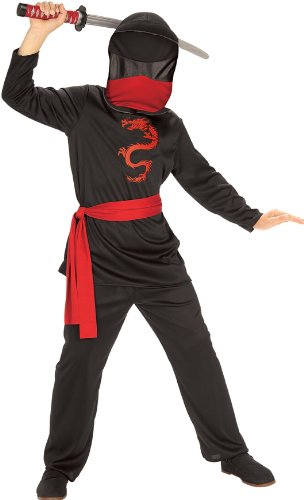 [Masked Ninja Child Costume] (Asian Inspired Halloween Costumes)