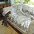 "Pet Repeller Furniture Pad Sofa & Couch Mat, SILVER, 72"" from MTR INC"