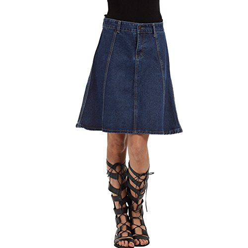 LIYT Women's Fashion Denim Skirts A-Line Skirts for sale  Delivered anywhere in USA