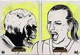 Zombies vs Cheerleaders Sketch 2 Card Set by Robert Hack