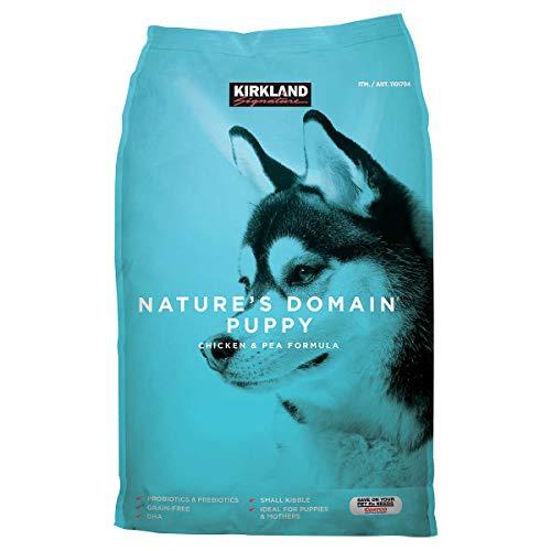 Bulkidoki Nature s Domain Puppy Formula Chicken Pea Dog Food 20 lb.