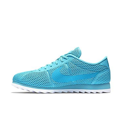 Zapatillas De Deporte Nike Mujeres Cortez Ultra Br 833801 Zapatillas Gamma Blue / White / Blue Lagoon