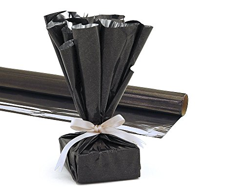 Mylar Reflective Roll 48 Inch Wide by 25 Ft. Length Black Pkg/1 (48 Inch Wide Rolls)