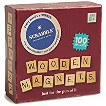 Wild and Wolf Set of 100 Wooden Magnetic Scrabble Letters
