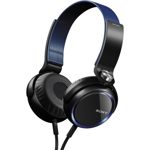 Sony 30mm Super Bass Sound Isolating Premium Headphones with In-Line iOS Remote & Mic for Apple Iphone, Ipod and Ipad