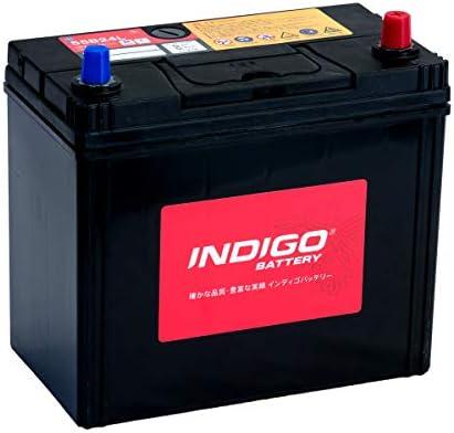 インディゴ バッテリー 55B24L プレサージュ DBA-TU31 H17/12~H21/8