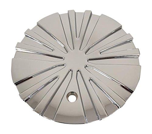 Verde Ballistic TC012 V-64 Chrome Wheel Center Cap Verde Wheels