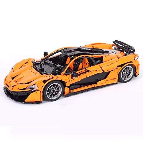 (Lepin 20087 Technic Car The Orange Super Racing Car Set Building Blocks Bricks Toy as Christmas)