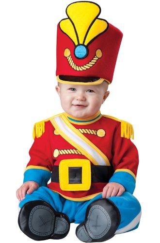 InCharacter Costumes Baby's Tiny Toy Soldier Costume, Red/Yellow/Blue, -