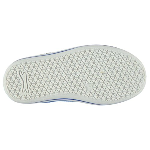 Slazenger Niños Infantes Zapatos de Tela Casuales Calzado Ligero Royal