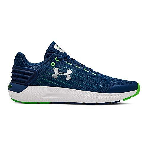 rade School Charged Rogue Sneaker, Petrol Blue (400)/White, 5 M US Big Kid ()