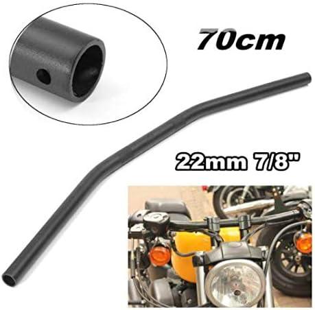 JenNiFer 22Mm 7 01# 8Inch 70Cm Longueur Drag Guidon pour Honda//Yamaha//Suzuki//Kawasaki//Harley Triumph