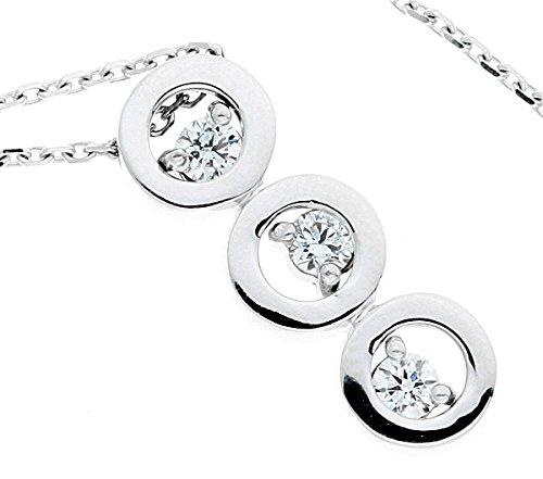 GOUTTES - Pendentif Diamant - Or 18 carat - Poids du diamant: 0.32 carat - www.diamants-perles.com