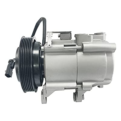 RYC Remanufactured AC Compressor and A/C Clutch FG184 (3.7 Liter Only): Automotive