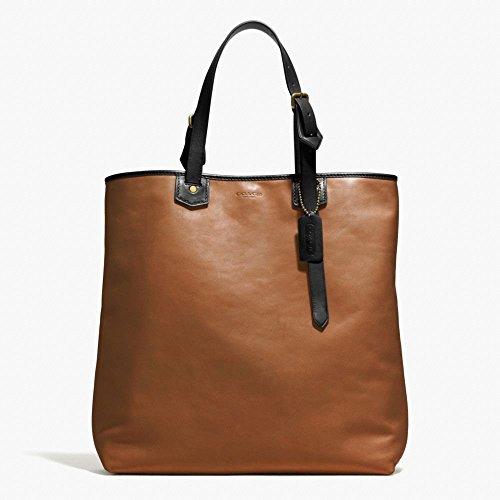 Coach Men's Bleecker Leather Shopper Bag 71332 Fawn