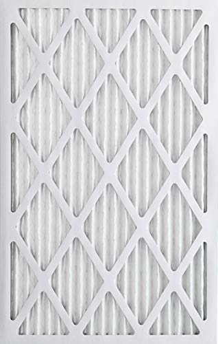 Nordic Pure 20x25x1 MERV 12 Pleated AC Furnace Air Filters, 6 PACK, 6 Count