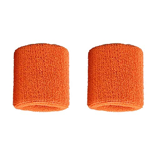 Lovelysunshiny 1 par de brazaletes de algodón Puro para Hombres, Mujeres, muñequeras, muñequeras para Tenis Deportivo muñequeras muñequeras para Tenis Deportivo
