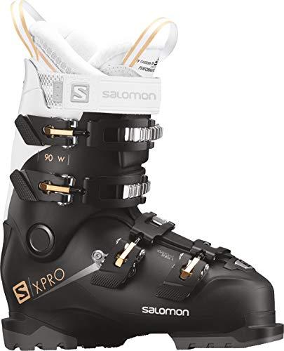 Salomon X-Pro 90 W Womens Ski Boots 2019-25.5/Black-White-Corail
