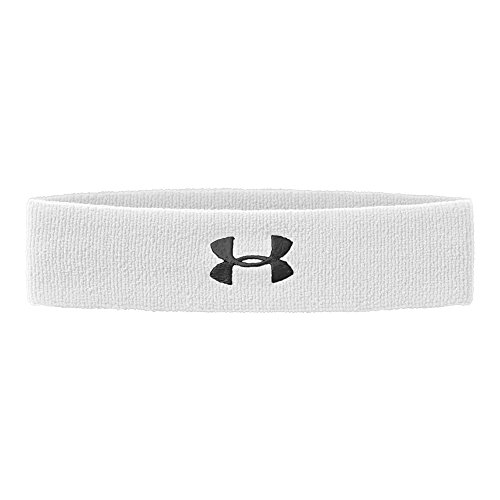 Under Armour Adult Performance Headband,WHITE,ADULT