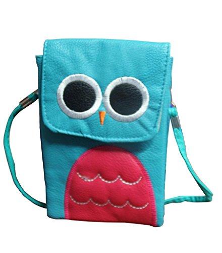 Jessidress Tasche Mädchen Handtasche Kindergartentasche Schultertasche Handtasche Türkis